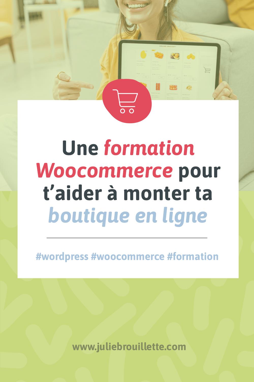 Visuel pour l'article Une formation WooCommerce pour t'aider à monter ta boutique en ligne